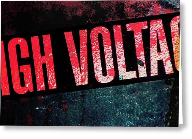 High Voltage - Mike Hope Greeting Card