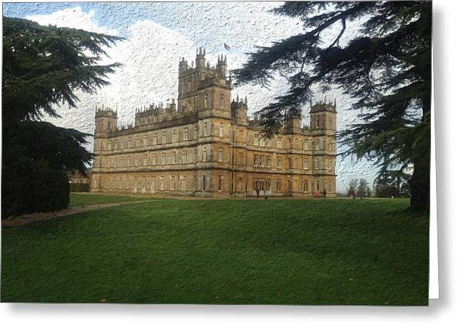 Highclere Castle Downton Abbey 2 Greeting Card