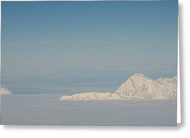Blanket Of Denali Greeting Card by Heather  Hiland