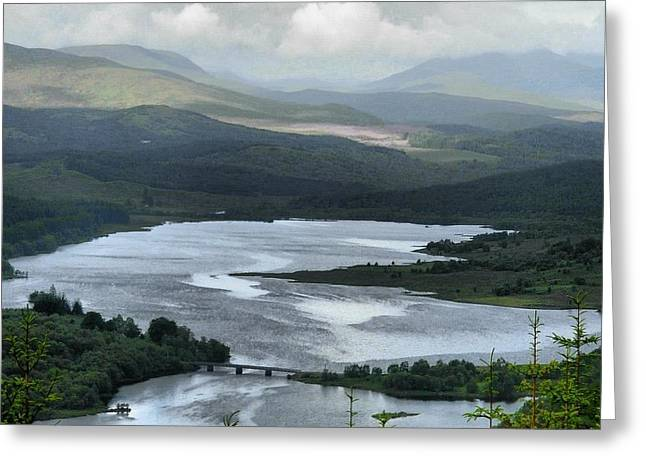 Highland Loch At Lochaber Greeting Card