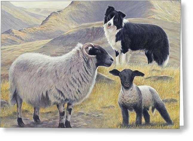 Highland Spirit Greeting Card