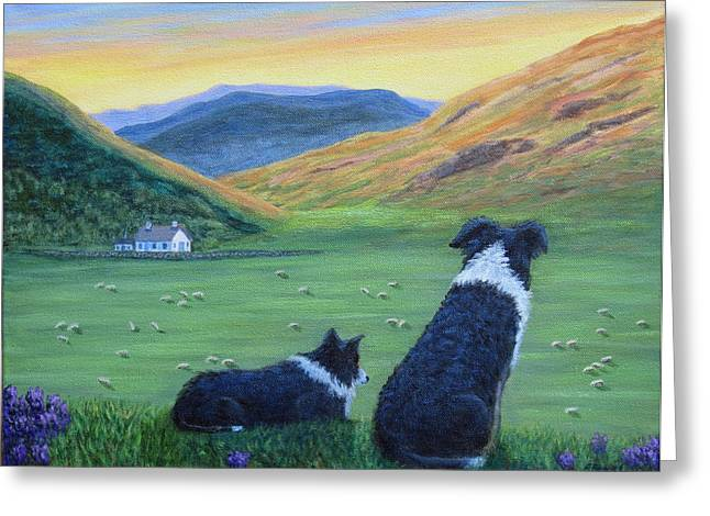 Highland Watch Greeting Card