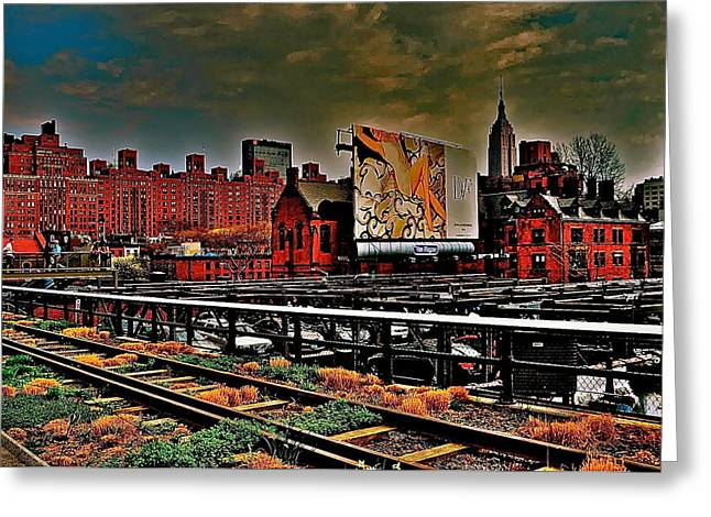 Highline Nyc Greeting Card