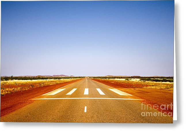 Highway 1 Western Australia Greeting Card by Colin and Linda McKie