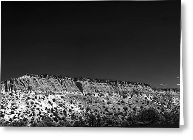 Highway 502 To Los Alamos Nm Greeting Card by Julie VanDore