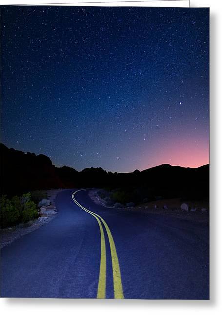 Highway Stars Greeting Card by Rick Berk