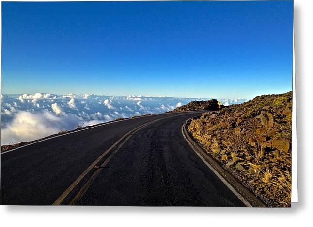 Highway To Heaven Greeting Card by Bryan Hurlbut