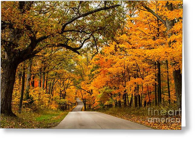 Highway To Heaven Greeting Card