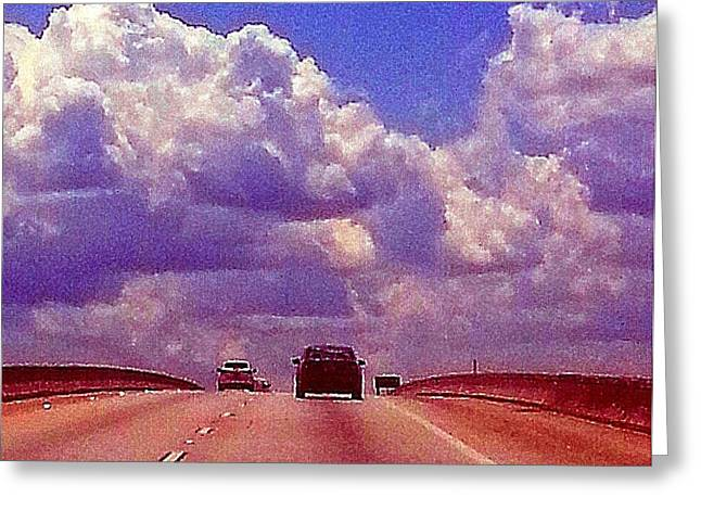Greeting Card featuring the photograph Highway To Heaven Too by Joetta Beauford