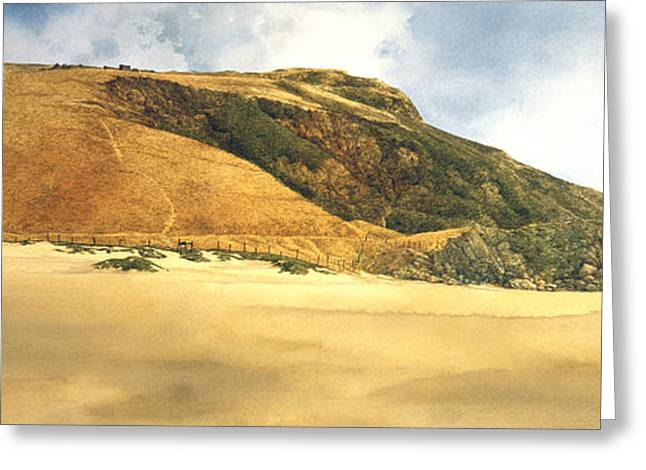 Hiker's Delight Greeting Card by Tom Wooldridge