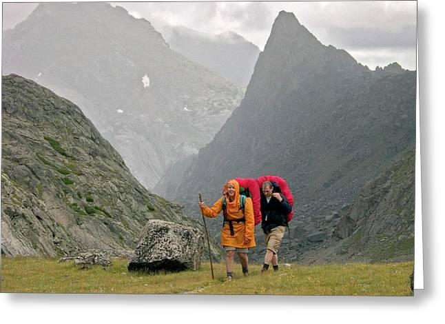 Hikers Greeting Card