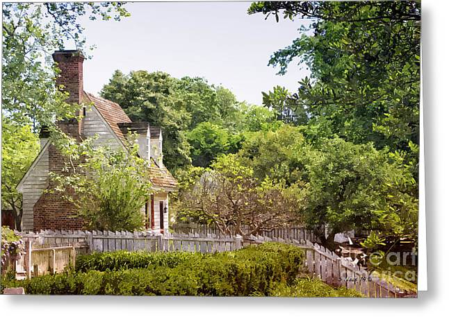 Hill Cottage Greeting Card