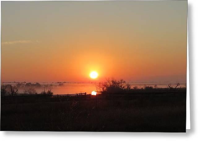 Hill Country Rising Greeting Card by David  Norman