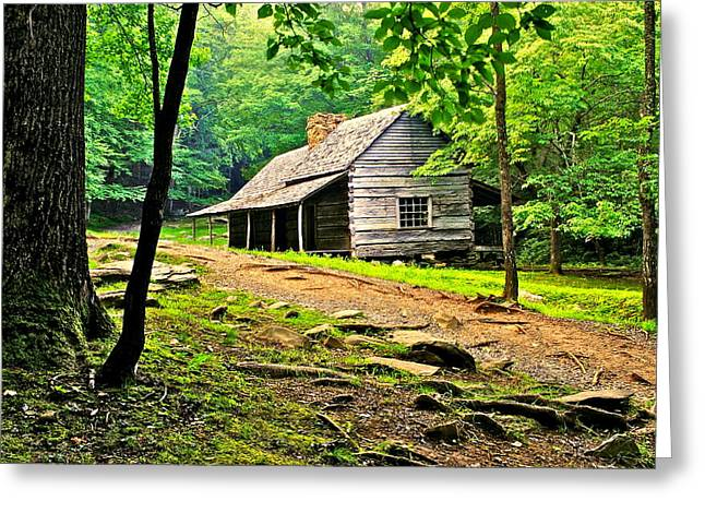 Hillbilly Heaven Greeting Card by Frozen in Time Fine Art Photography