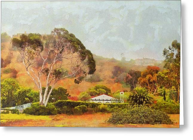 Hills Of Palos Verdes Greeting Card