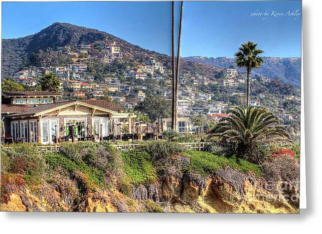 Hillside View Greeting Card
