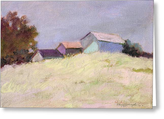 Hilltop Barns Greeting Card