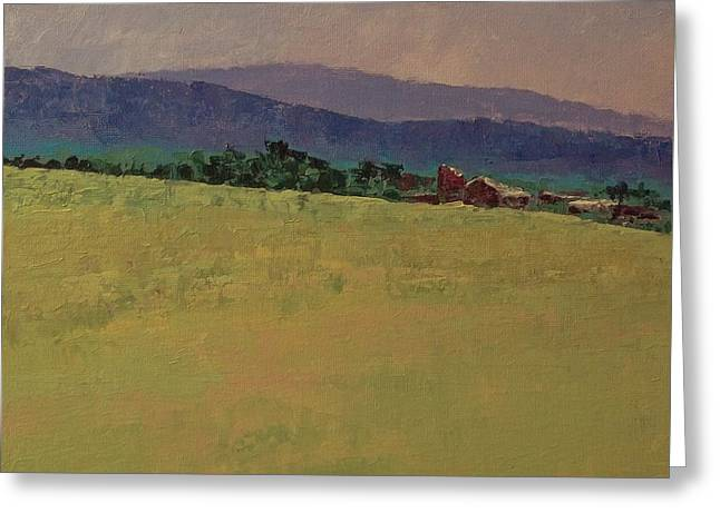 Hilltop Farm Greeting Card