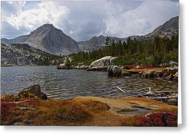 Hilton Creek Lakes By Frank Lee Hawkins Greeting Card