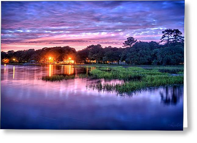Hilton Head Evening Marsh Greeting Card