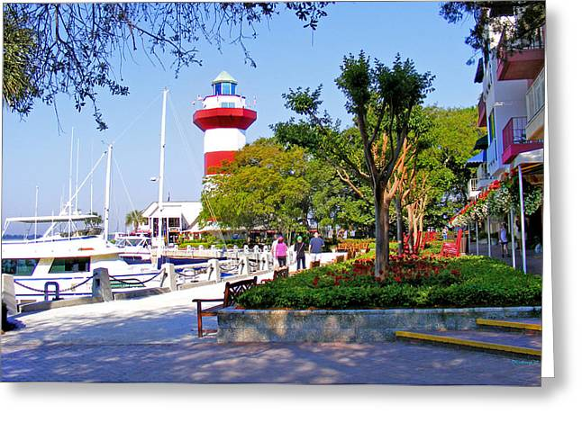 Hilton Head Lighthouse Greeting Card