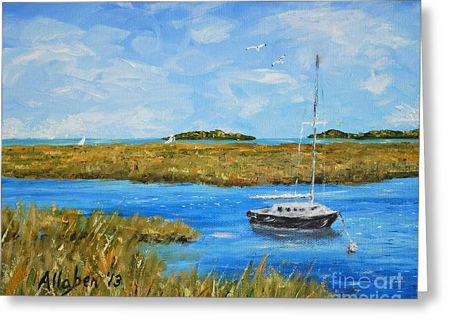 Hilton Head Mooring Greeting Card