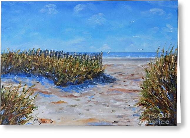 Hilton Head North End Greeting Card