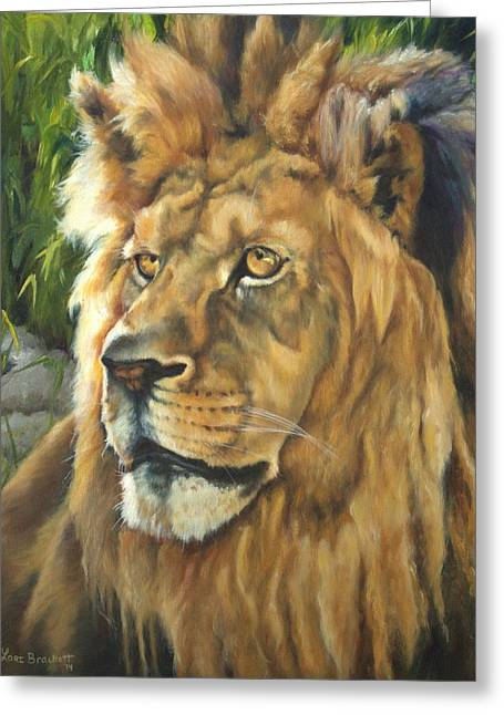 Him - Lion Greeting Card