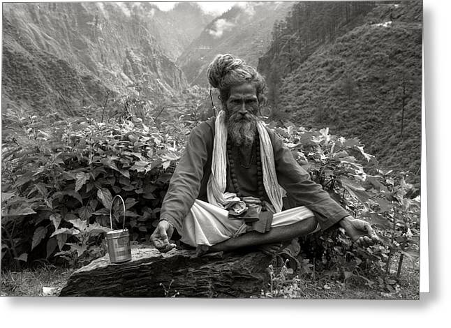 Himalayan Greeting Card by CoSurvivor
