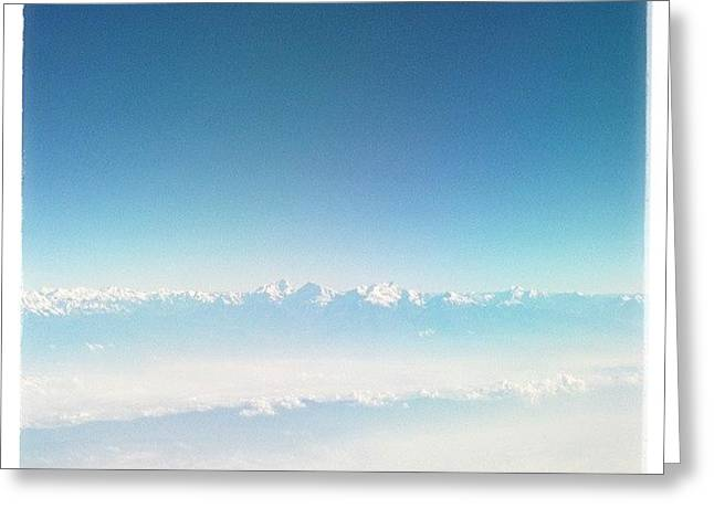 Himalayas Range Greeting Card