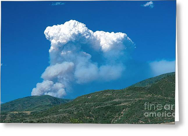 Hinman Fire Greeting Card