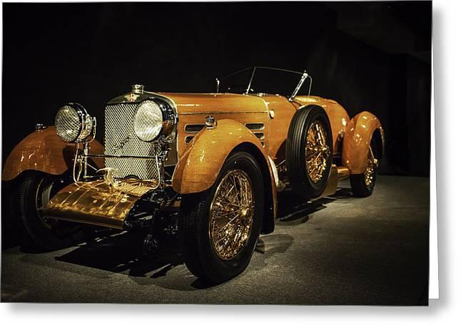 Hispano Suiza Tulipwood Greeting Card by John Crowe