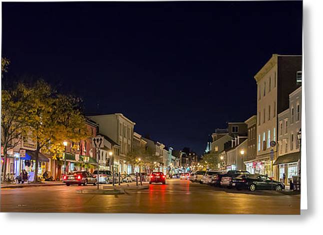 Historic Annapolis - Pano Greeting Card