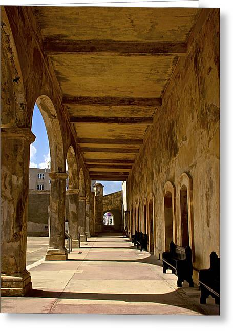 Historic Archways Greeting Card