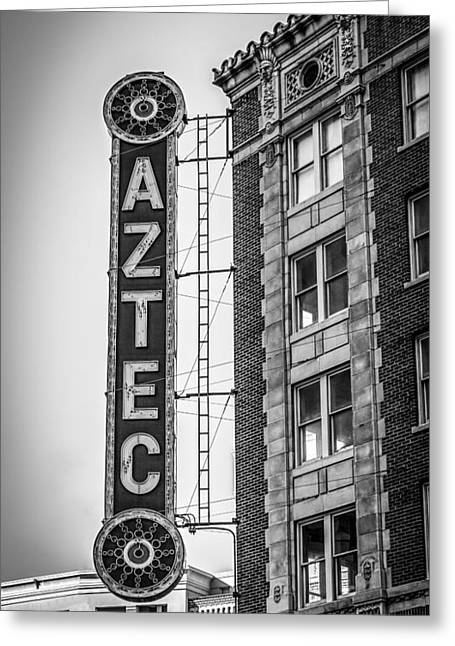 Historic Aztec Theater Greeting Card