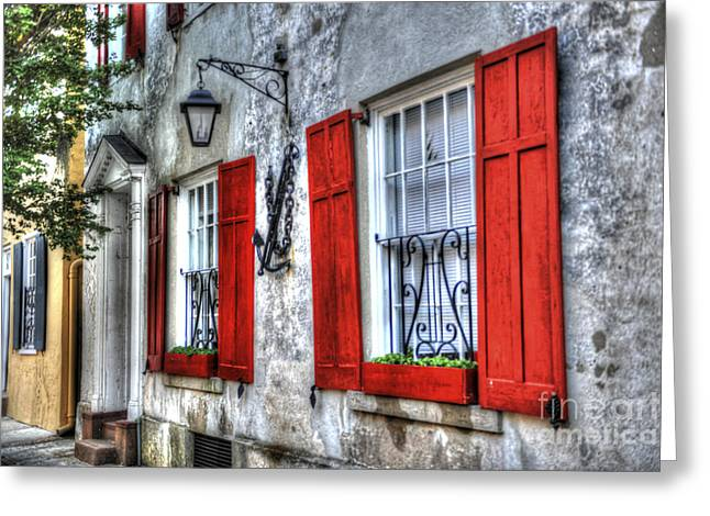 Historic Charleston Pirates House Greeting Card