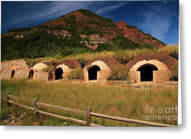 Historic Coke Ovens Greeting Card