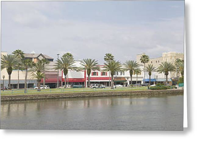 Historic Daytona Florida Pano Greeting Card