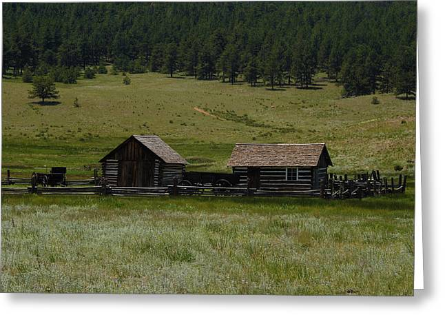 Historic Homestead Greeting Card