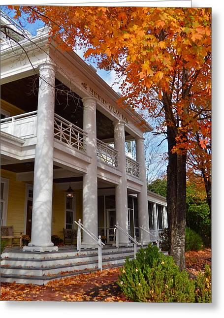 Historic Inn In Ashland Va Greeting Card
