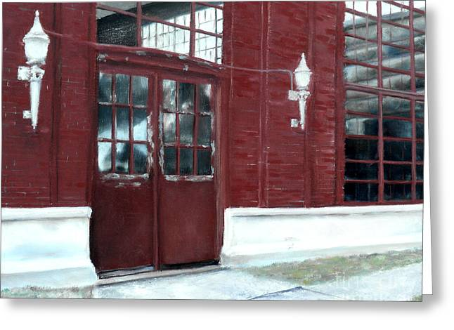 Historic Mcneill Street Pumping Station Shreveport Louisiana Greeting Card by Lenora  De Lude