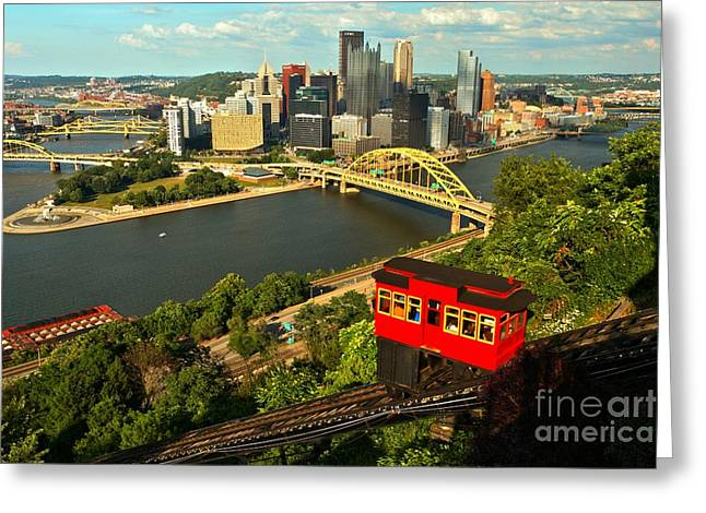Historic Duquesne Incline Greeting Card