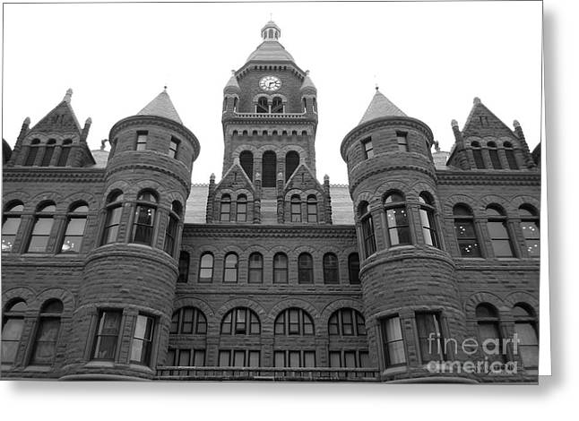 Greeting Card featuring the photograph Historic Old Red Courthouse Dallas #2 by Robert ONeil
