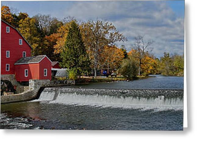Historic Panorama Greeting Card by Lanis Rossi