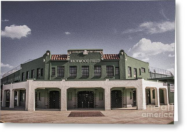 Greeting Card featuring the photograph Historic Rickwood Field by Ken Johnson