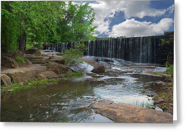 Historic Yates Mill Dam - Raleigh N C Greeting Card