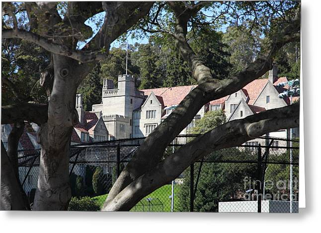 Historical Bowles Hall Uc Berkeley College Dormatory 5d24734 Greeting Card