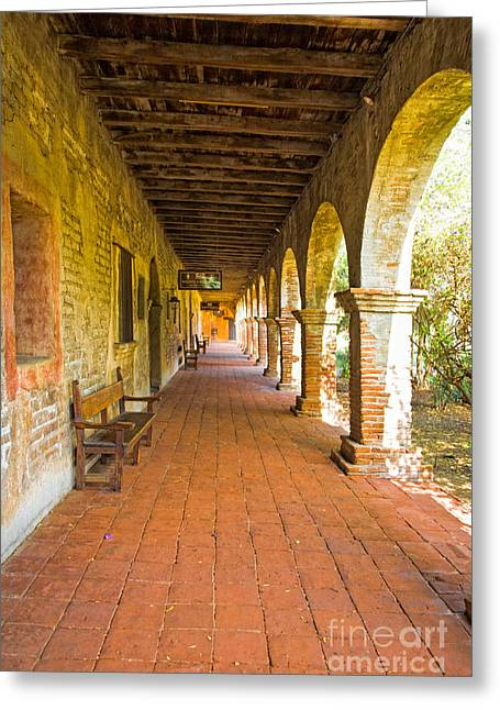 Historical Porch Greeting Card