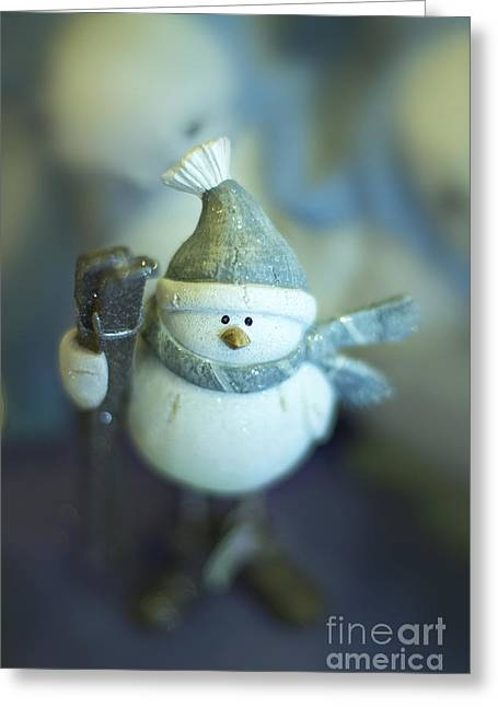 Hit The Slopes Greeting Card
