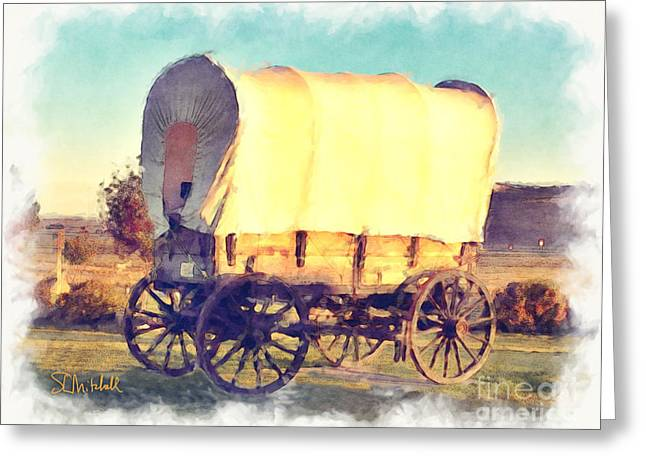 Hitch Your Wagon Greeting Card